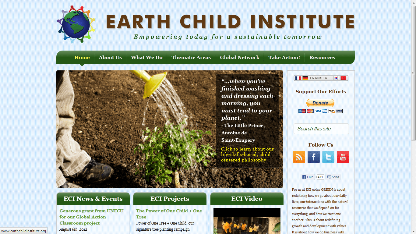 Earth Child Institute