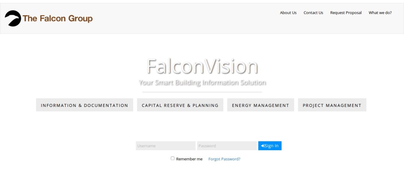 FalconVision Your Smart Building Information Solut