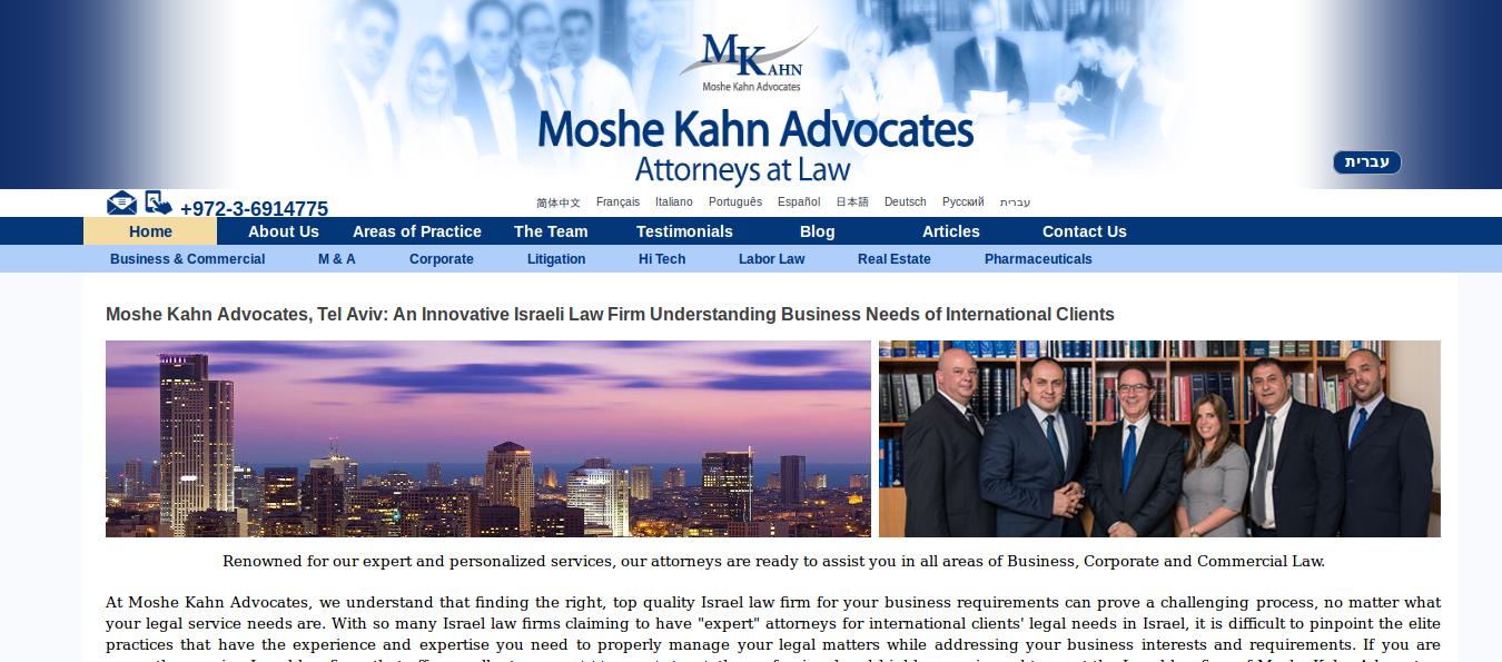 Moshe Kahn Advocates