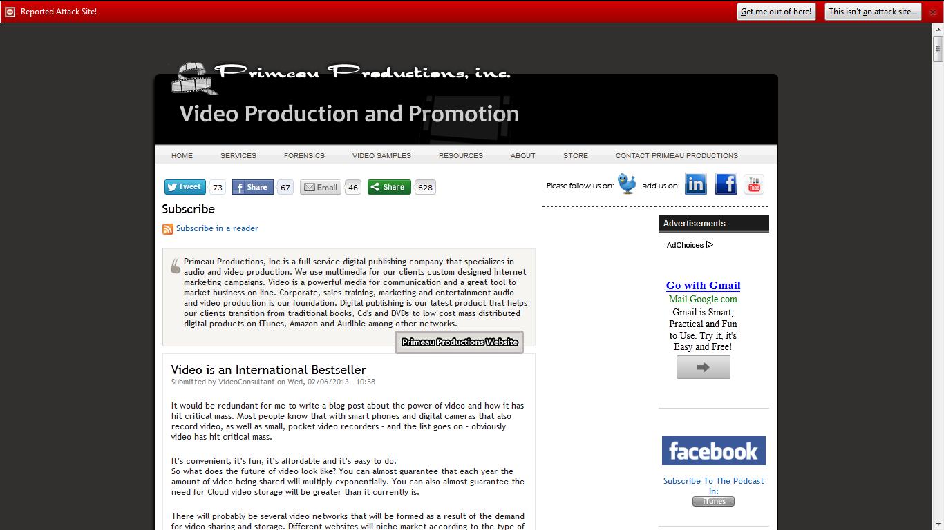Video Production Primeau
